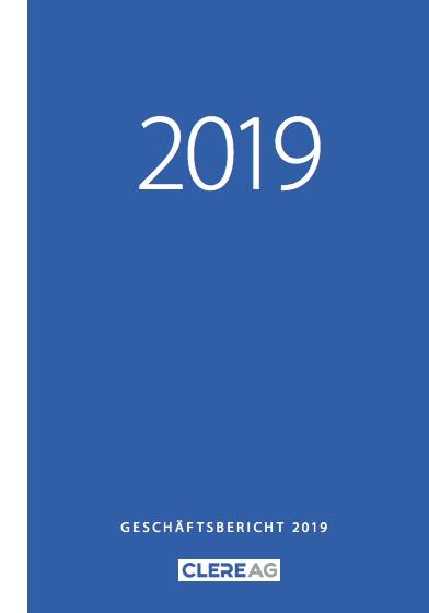 CLERE AG Geschäftsbericht 2019
